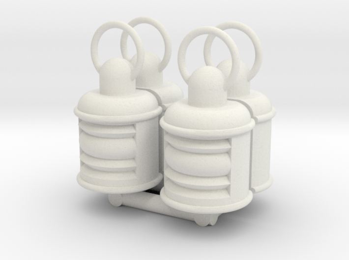 Lamp 4 pcs. 3d printed