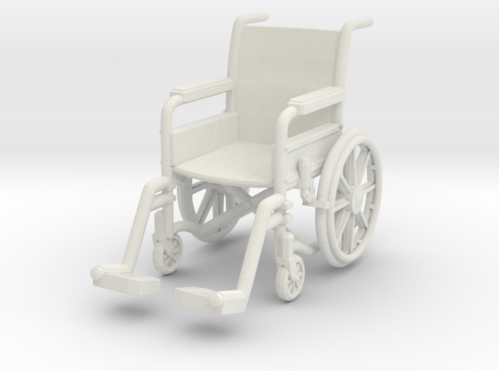Wheelchair 01. 1:32 Scale 3d printed