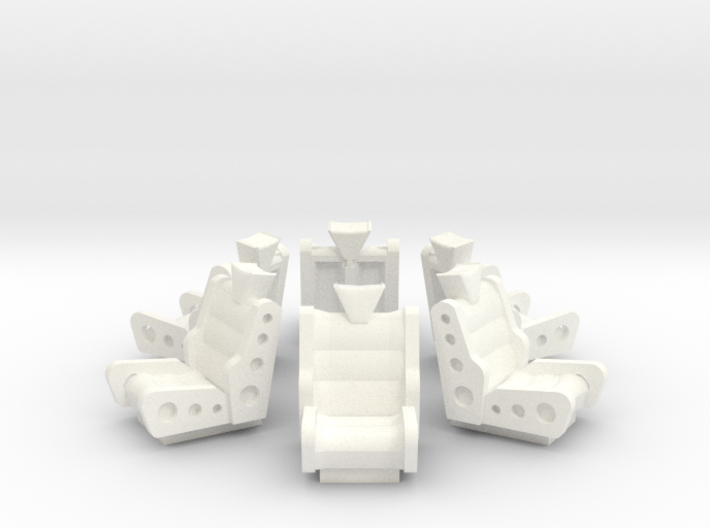 Asmb Of Jupiters Chairs-Lrg 3d printed