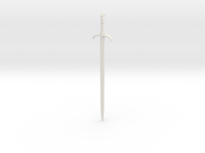 1/6 Game of Thrones sword Longclaw 3d printed