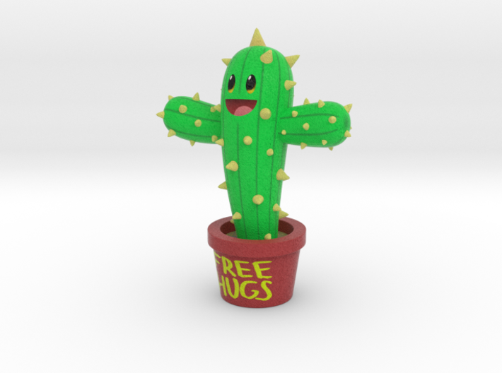 Needles the Cactus 3d printed