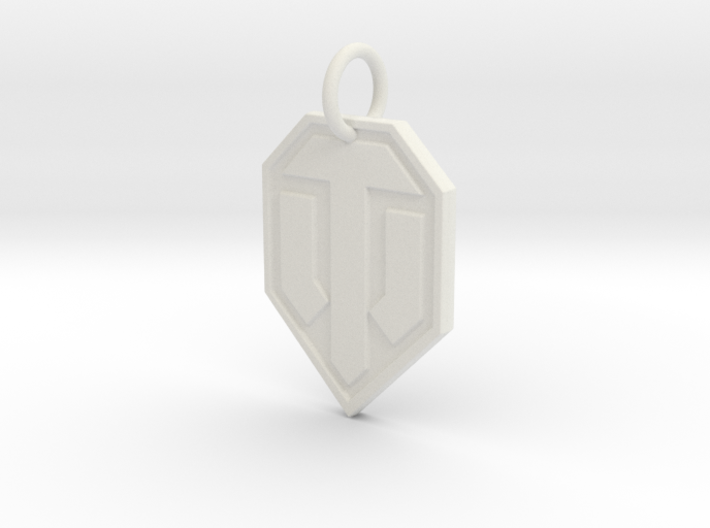 World of tanks keychain 3d printed