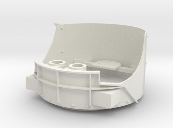 DShK Dual Open Turret 1:16 Turret 3d printed