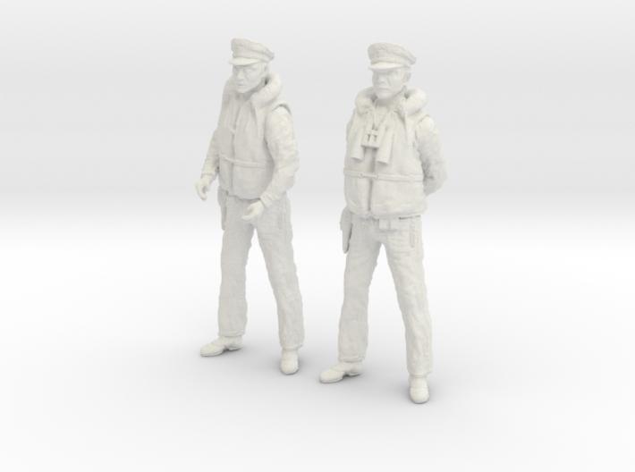 1-30 US Navy PT Boat Crew Set6-1 3d printed