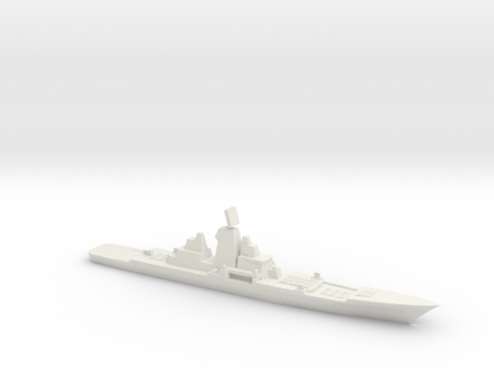 Hypothetical Chinese mod of BC Kirov, 1/3000 3d printed