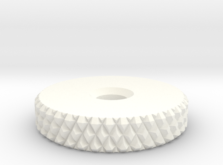 TFA front bracket knob 3d printed