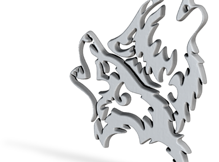 Wolfskopf / Wolfhead 3d printed