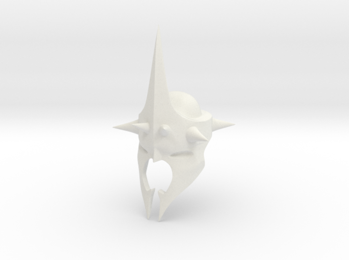 Witchking of Angmar Helmet (LEGO compatible) 3d printed