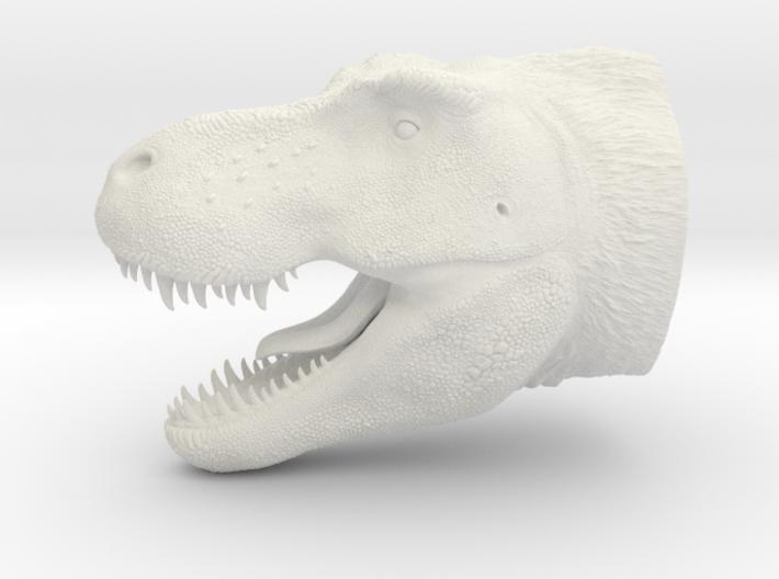 T. Rex Bust 3d printed