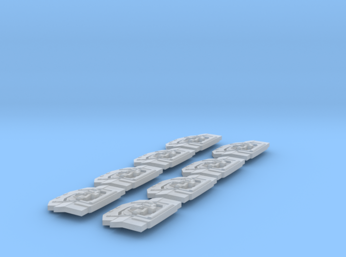 1/4222 Turrets and Bays 3d printed