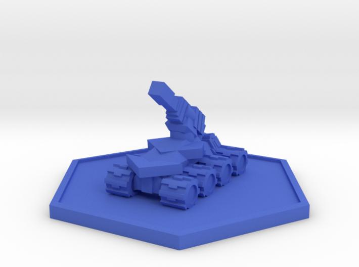 Colour Rim Bastion Drone Artilery 3d printed