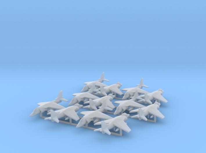 Harrier AV-8B (12x) (1:400) 3d printed