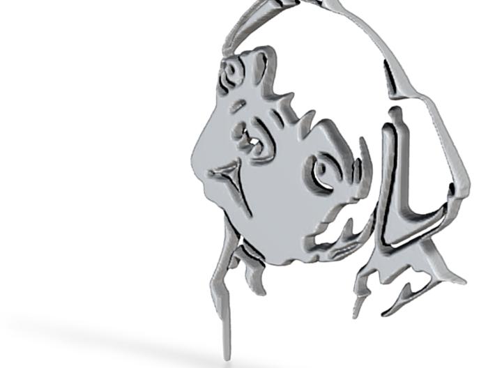 Mops Head 3d printed