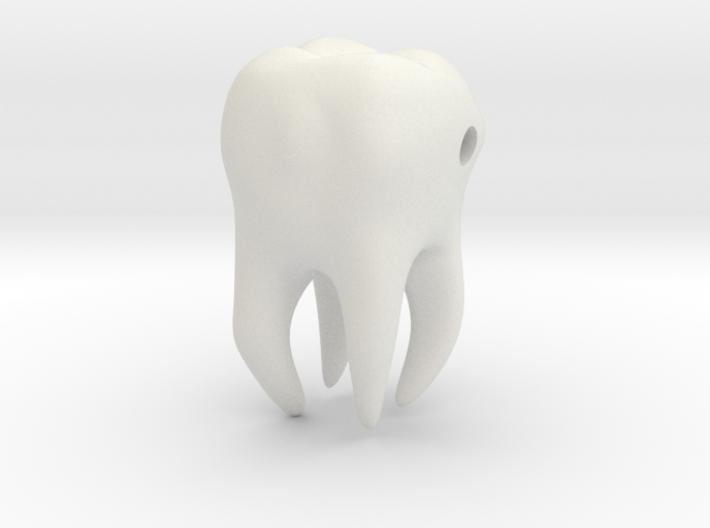 Wisdom Tooth charm/pendant 3d printed