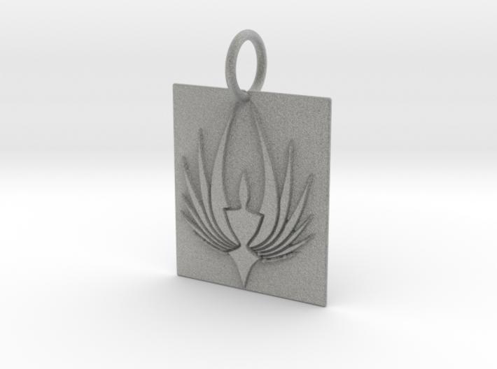 Phoenix Keychain 3d printed