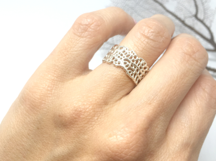 seafan ring 3d printed
