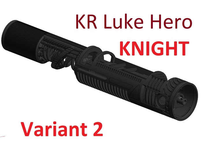KR Luke Hero - Knight Chassis Var2 - All.In.One 3d printed