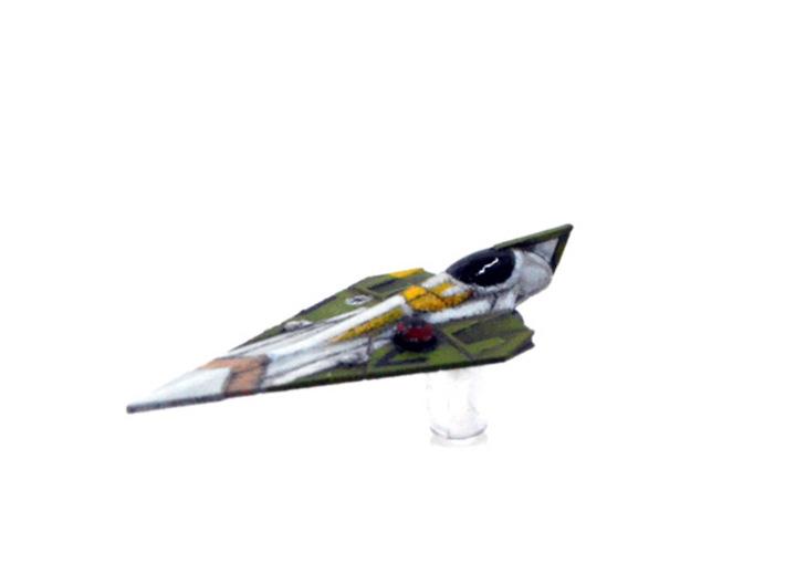 Delta-7 - Offset astromech 3d printed
