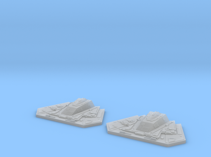 YT1300 MPC CANNONS YOKE SUPPORT SET 3d printed