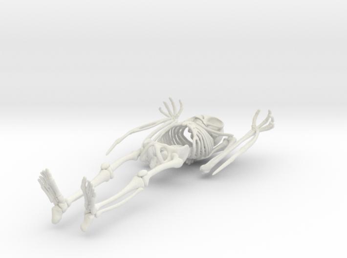 Mothman Skeleton 3d printed