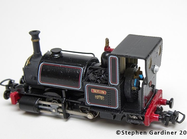 Talyllyn (Bachmann Skarloey) Backhead 3d printed Installed inside the cab.