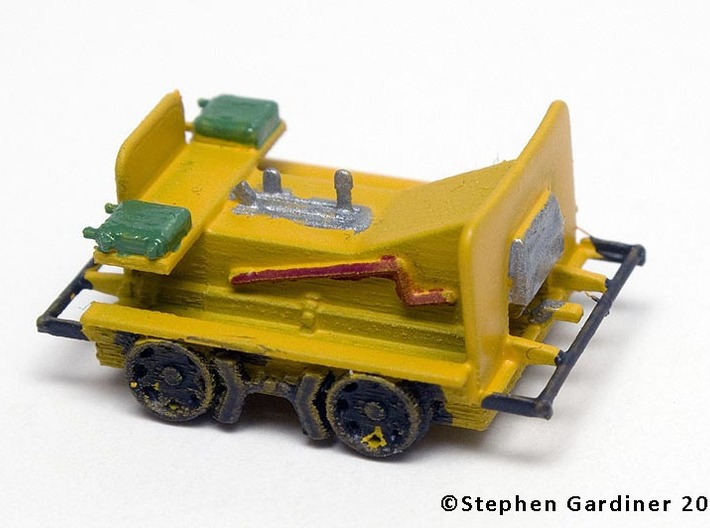 HO Scale (1:87) Fairmont M14 Speeder Car 3d printed