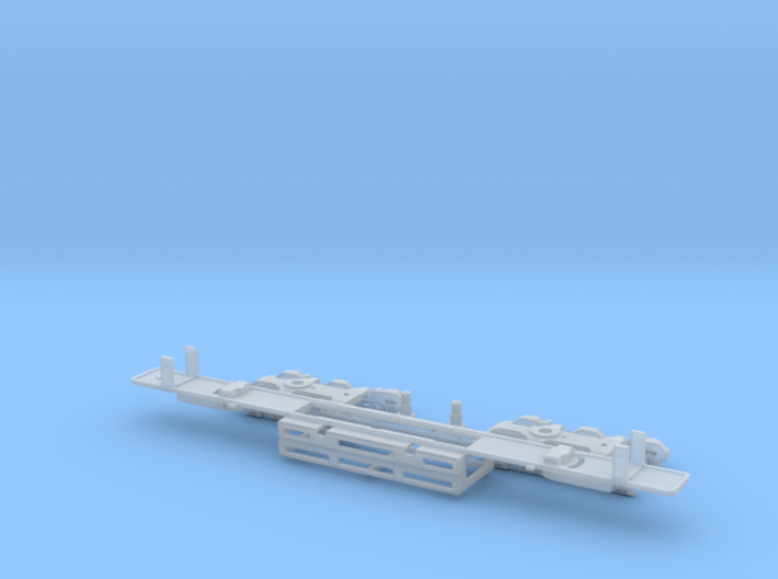 Atlas SD50/SD60/SD60M Dummy Chassis Kit - N Scale 3d printed