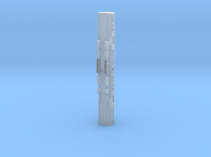 Queensland Rail EMU - Middle Carriage (N or HO) 3d printed