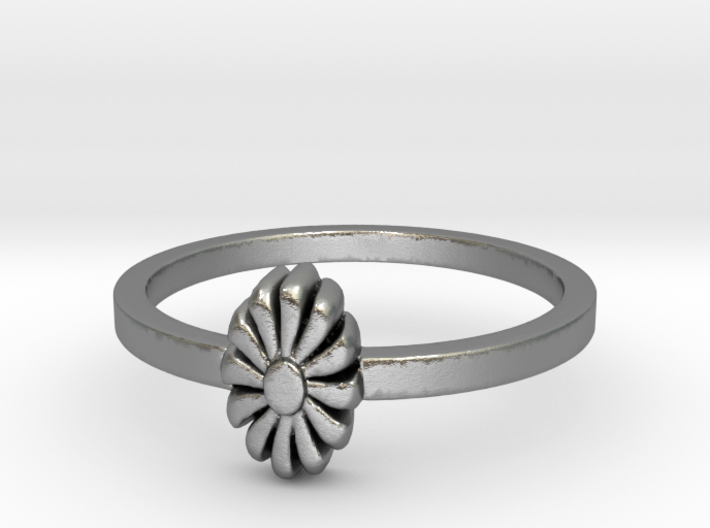 Flora Ring (size 6-13) 3d printed