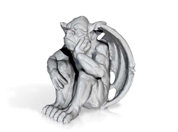Bored Gargoyle 3d printed