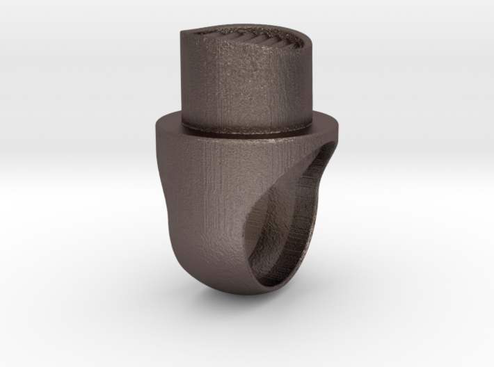 NYFat Ring 3d printed