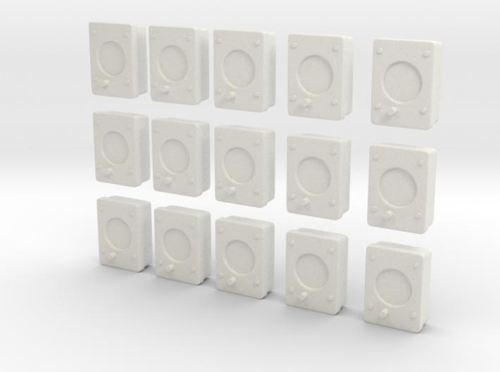 1/32 USN Gauges Lv1 Set 15 Units 3d printed