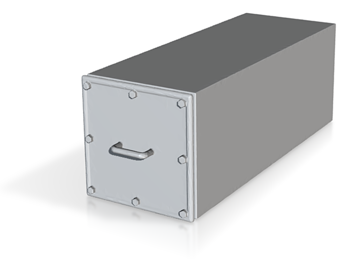 EMD Electrical Equipment Box 3d printed