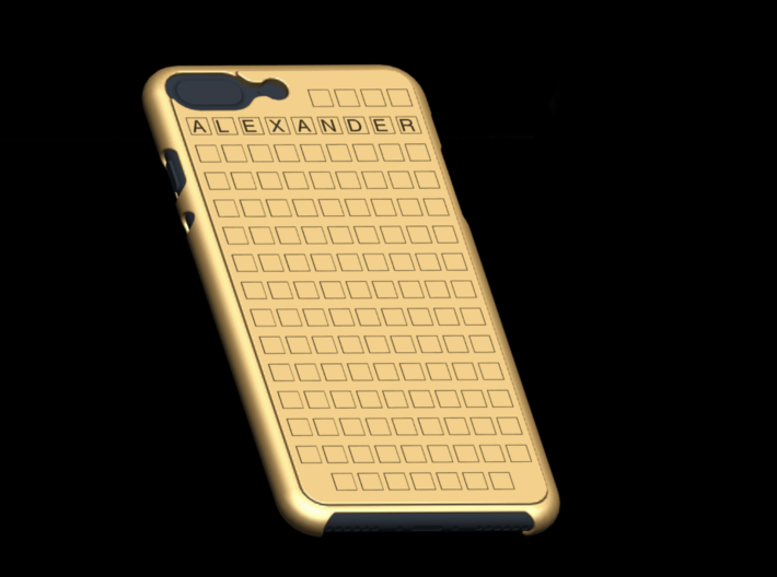 Case for Iphone 7 Plus with your name 3d printed