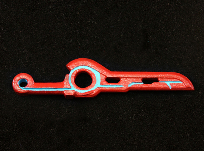 Monado Sword 3d printed Painted Frosted Ultra Detail