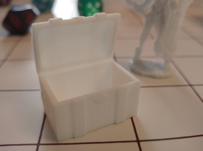 Tabletop: Open Chest 3d printed