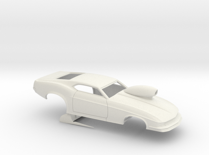 1/8 1970 Pro Mod Mustang With Scoop 3d printed