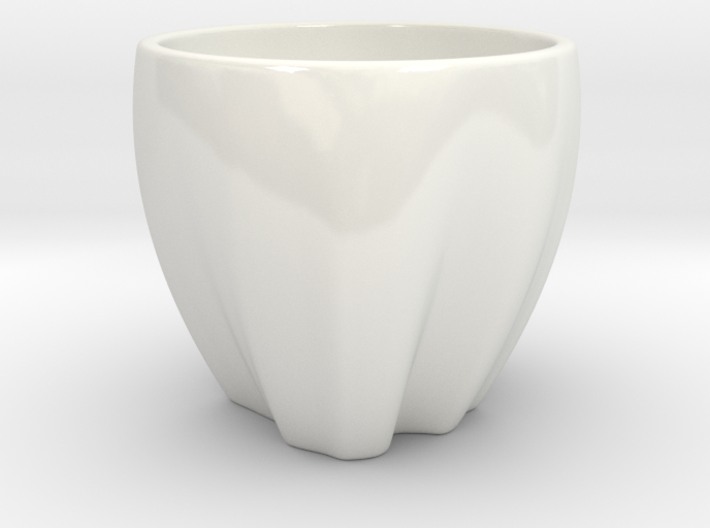 Colombia in a cup 3d printed