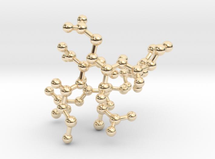 MASS SPEC Polypeptide Earrings 3d printed