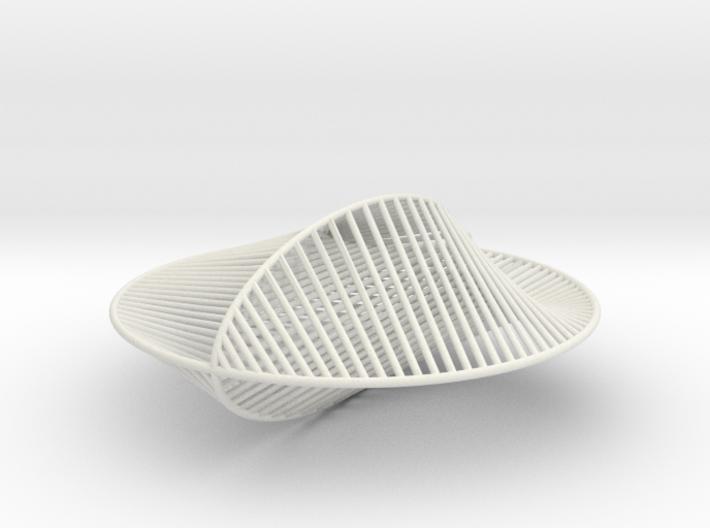 Cardioid Elliptical Pendant 3d printed