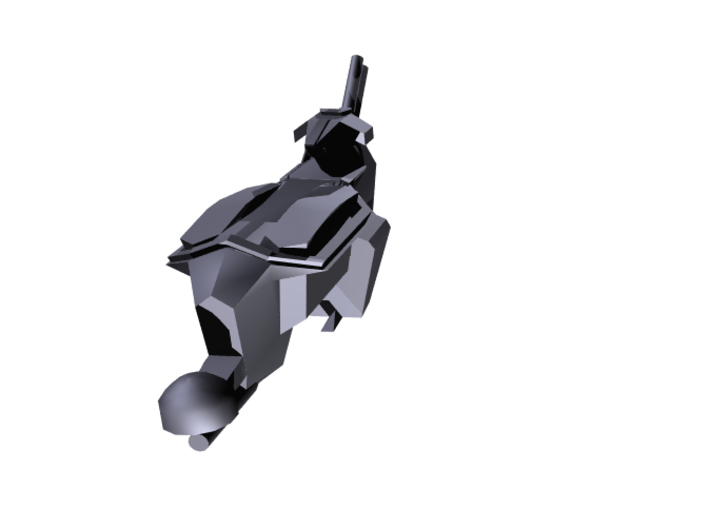 "Kushan ""Puppeteer"" Drone Frigate (3) (Variant) 3d printed"