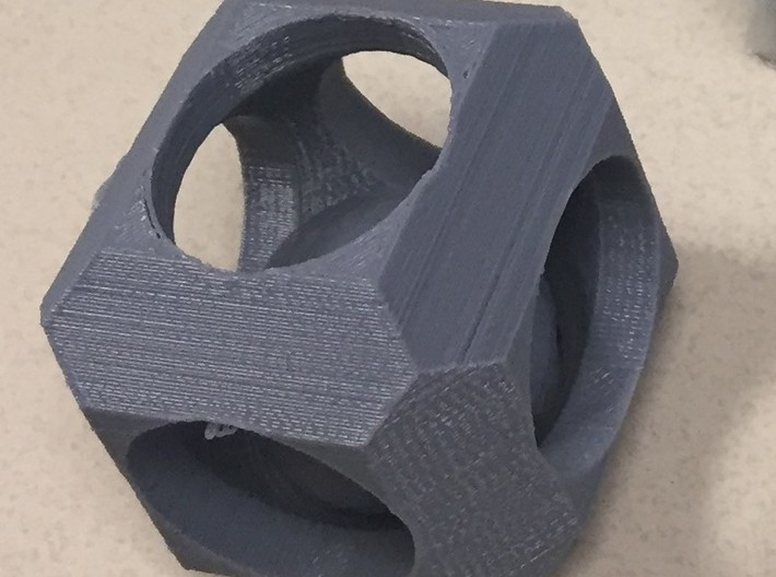 Ball in Cube Fidget 3d printed
