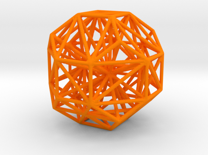 Polyhedron Graph 3d printed