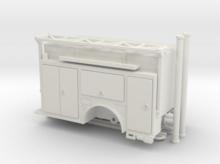 1-64 KME Camden engine body w/ ladder rack v2 3d printed