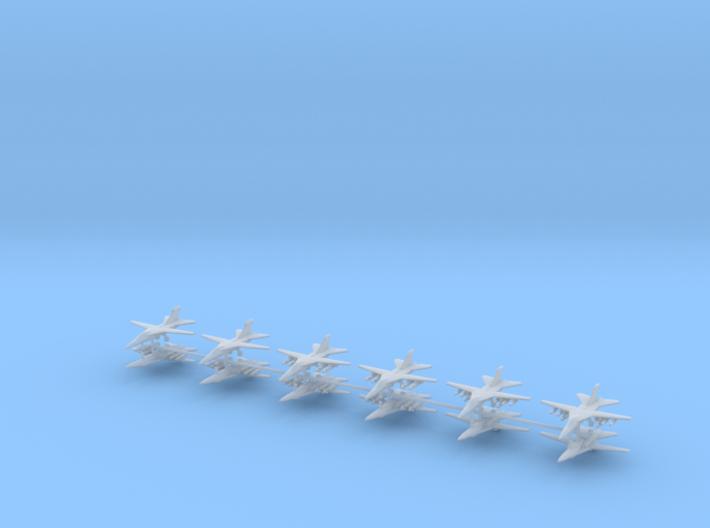 1/600 F-111E / EF-111 Aardvark / Raven (x12) 3d printed