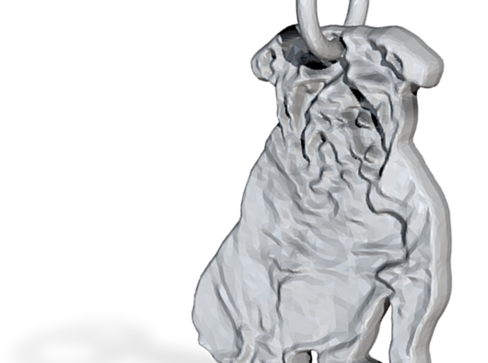 Englisch bulldog 3d printed