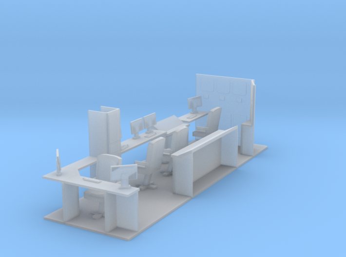 187th Interior for hydraulic Fracturing data van b 3d printed