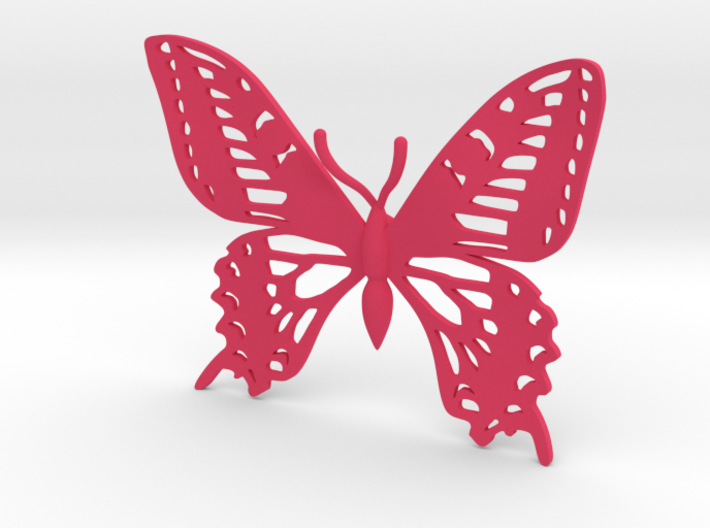 Butterfly Hair Clip 3d printed