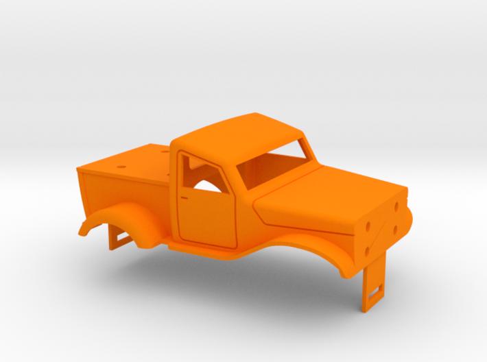 Hot Rod Pickup 3d printed