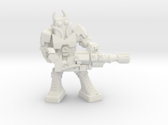 Waruder Battas Heavy Gunner, 35mm Mini 3d printed